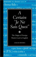 "Odd Book Out Review: A Certain ""Je Ne Sais Quoi"" by Chloe Rhodes"